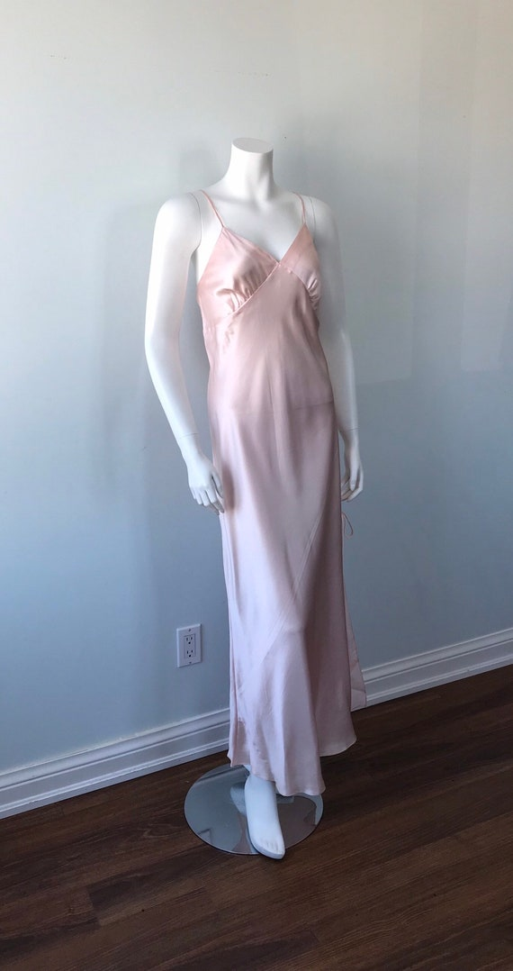 Vintage Pink Nightgown, 1990s Nightgown. Emilio C… - image 5