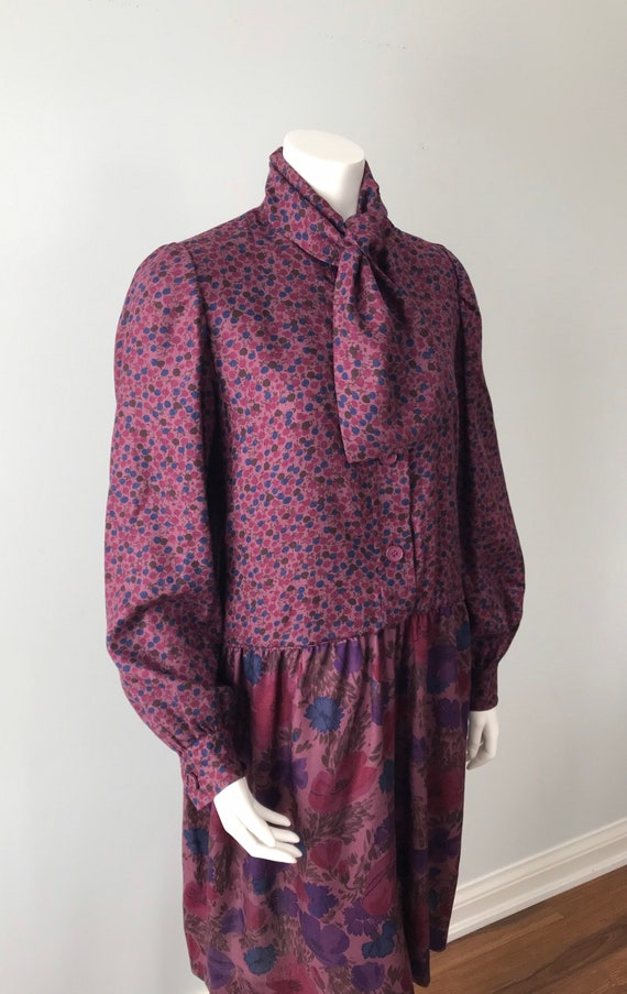 Givenchy, Vintage 1960s Fall Dress, Givenchy Nouv… - image 5