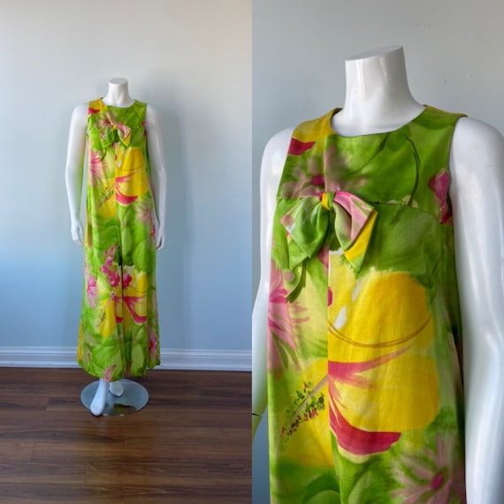 1970s Diamond Tea Ltd Romper, Vintage Romper, 1970