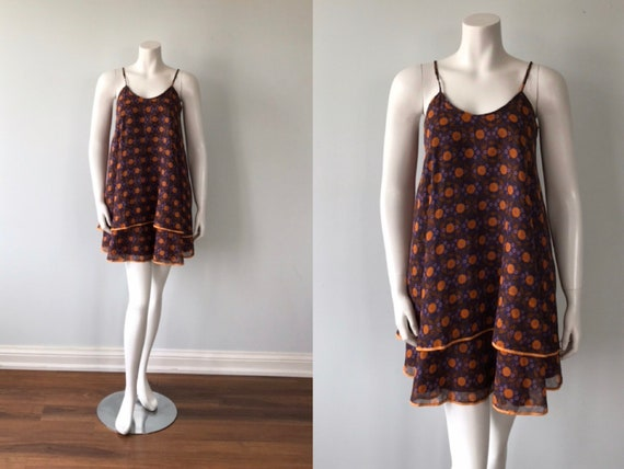 Vintage Mary Quant Cotton Dress, Mary Quant's Ging