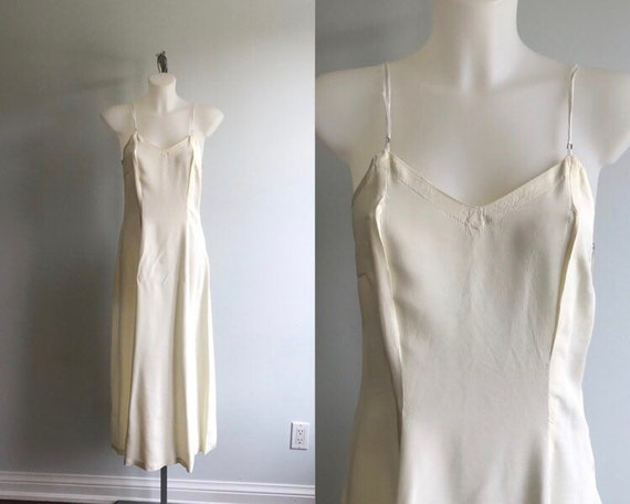 Vintage Nightgown, Vintage Maxi Slip, Vintage Dres