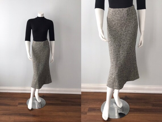 Vintage Emanuel Ungaro Paris Wool and Cashmere Fla