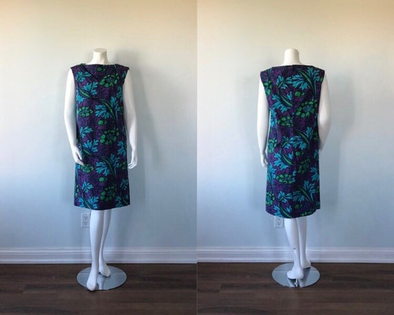 Vintage Sambo Cotton Dress, 1950s Dress, Sambo Eve