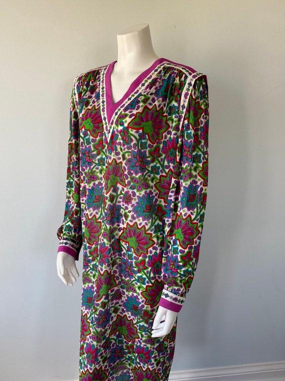 Vintage 1980s Dress, Gibi Roma, 1980s Dress, Long… - image 4