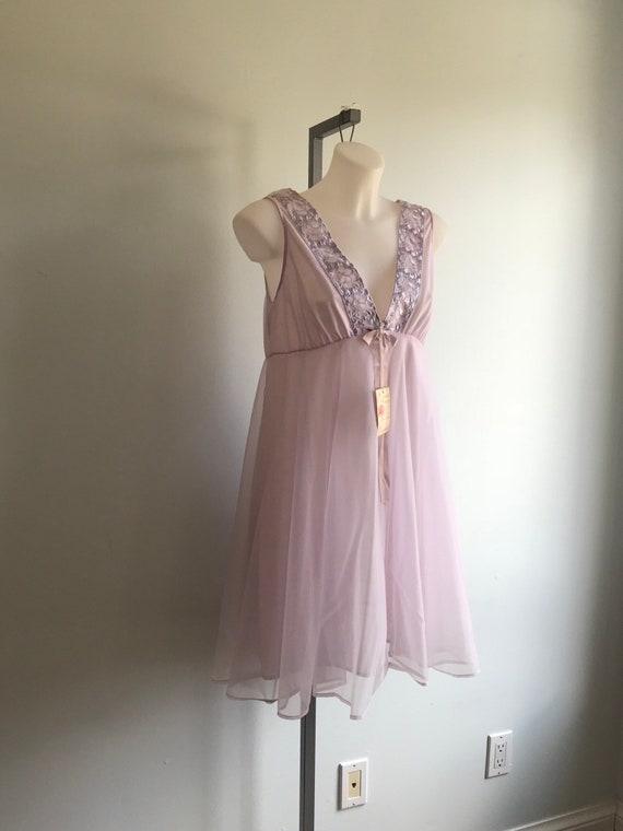 Vintage Chiffon Nightgown, Vintage Nightgowns, Qu… - image 4