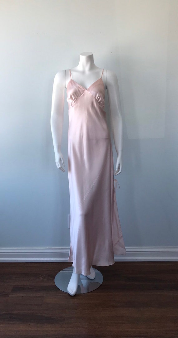 Vintage Pink Nightgown, 1990s Nightgown. Emilio C… - image 2