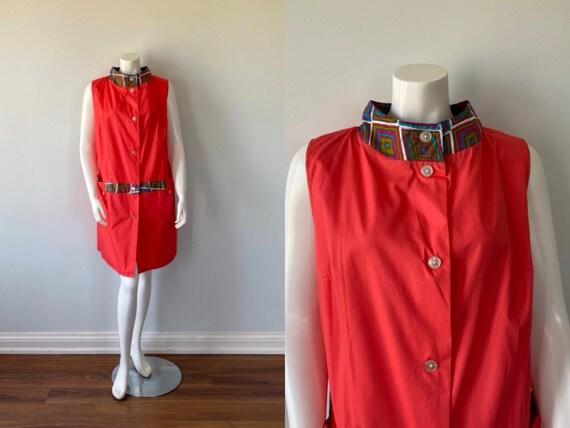 1950s Dress, 1950s Duster, 1950s Housecoat, Vintag