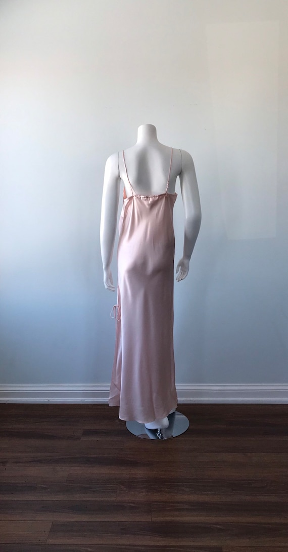 Vintage Pink Nightgown, 1990s Nightgown. Emilio C… - image 7