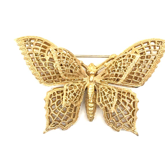 Miriam Haskell Butterfly Pin