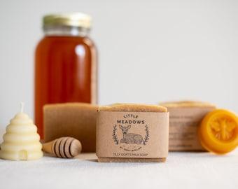 Beeswax & Honey Goat Milk Soap