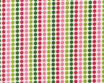 FQ Remix Dotty Stripes Bermuda fabric by Robert Kaufman