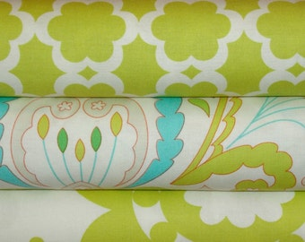 Designer Fabric Bundle, Dena Designs, Kumari Garden Collection, Full Yard Set, 3 Yards Total