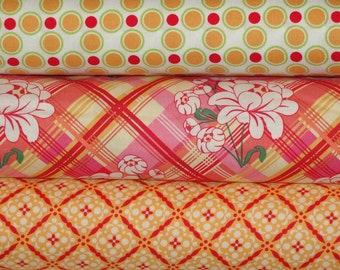 Sandi Henderson Fabric, Full Yard Bundle, Meadowsweet, 3 Yards Total