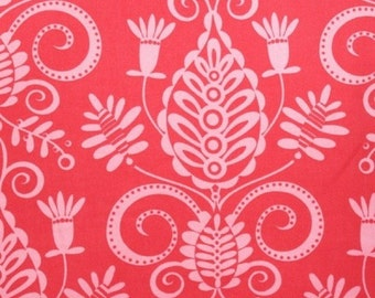SALE, Pillow and Maxfield, Tonal Doozie in Pink, Whimsy Collection, Michael Miller Fabric, 1 Yard