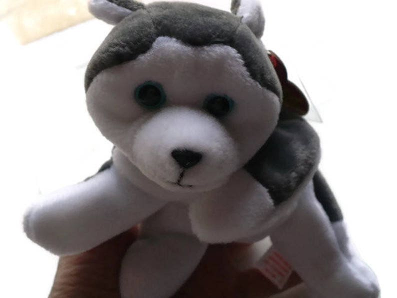 b8ff102529f Husky Dog Stuffed Animal Dog Lover Gift Ty Beanie Babies