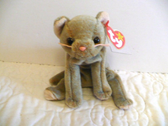 1f69147990a Cat Stuffed Animal Ty Beanie Babies Baby Plush Toy Baby