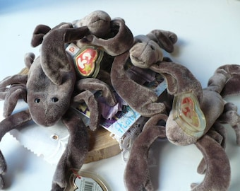 Zoo Animal Stuffed Animal, Brown Scorpion Toy, Stuffed Zoo Animal, Ty Beanie Baby Stinger