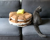 Big Stack of Pancakes Pet Bed for Cats or Small Dogs!