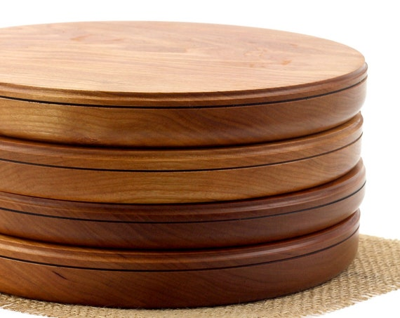 Cutting Board, Wooden Double-Sided Cutting Board /Cheese Platter/Cake Plate/Meat Platter/Serving Platter
