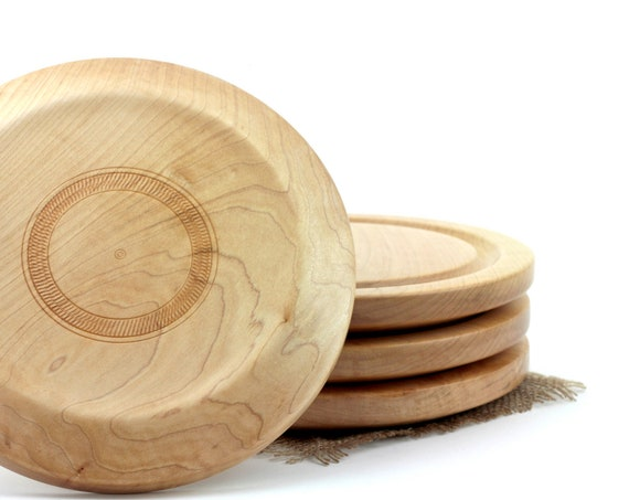 Wooden Steak Plate  Serving Platter Cutting board Chesse Platter Meat Board Dessert plate BBQ Plate