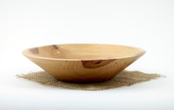 Wooden Elm Bowl Hand turned