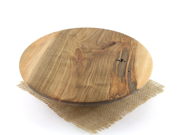"10"" Wooden Cake Stand, Spalted Maple Cake Stand,  Pedestal Cake Plate, Wedding Cake Stand,Dessert Pedestal, Hostess and Gourmet"