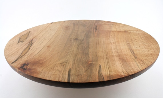 "17 1/4 ""  Ambrosia Maple Cake Stand, Pedestal Cake Plate,Wedding Cake Stand,Dessert Pedestal, Hostess and Gourmet"