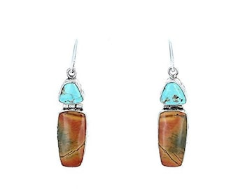 SONORA SUNRISE and Carico Lake Turquoise Earrings #4 Asianbeads