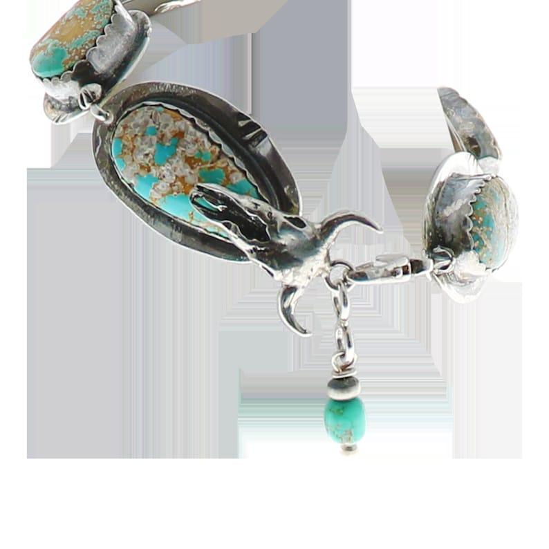 Carico Lake Turquoise Bracelet Sterling Southwest,
