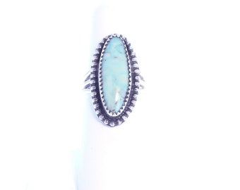 DRY CREEK TURQUOISE Sterling Silver Ring Size 6 NewWorldGems