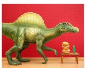 30% OFF SALE Dinosaur decor: Dino Burger