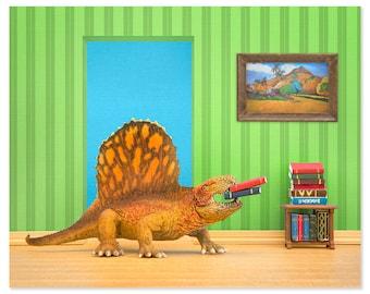2 FOR 1 SALE - Dinosaur decor wall art