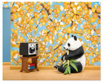 2 FOR 1 SALE - Panda animal art print