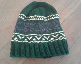 Handknitted Norwegian Hat