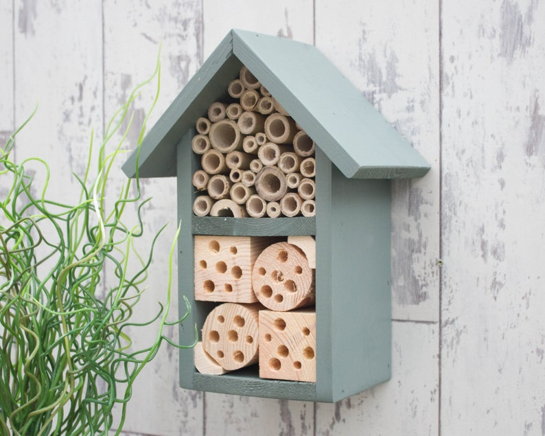 Insect and Bee Hotel Wildlife House in Wild Thyme. Can be image 0