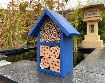 Insect and Bee Hotel, Wildlife House in Barleywood. Can be personalised.