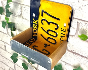 Bird Feeder, New York License Plate Bird Feeder, Can be personalised