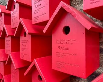Single Post Box Bird Box