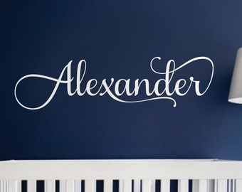 Nursery Wall Decal Kids Wall Decal Wall Decals For Girls or Boys. Wall Decals Personalized Names Vinyl Wall Decal Sticker
