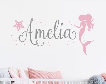 Indoor//Outdoor AMELIA Street Sign Childrens Name Room Decal