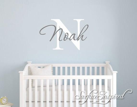 Kinderzimmer Wandtattoo. Personalisierte Namen Wandtattoo für Jungen und  Mädchen Zimmer. Personalisierte Wandtattoo hergestellt in alle Farben und  die ...