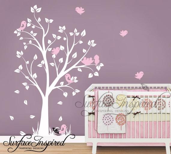 Kinderzimmer Wandtattoo Baby Garten Baum Wandtattoo Fur Etsy