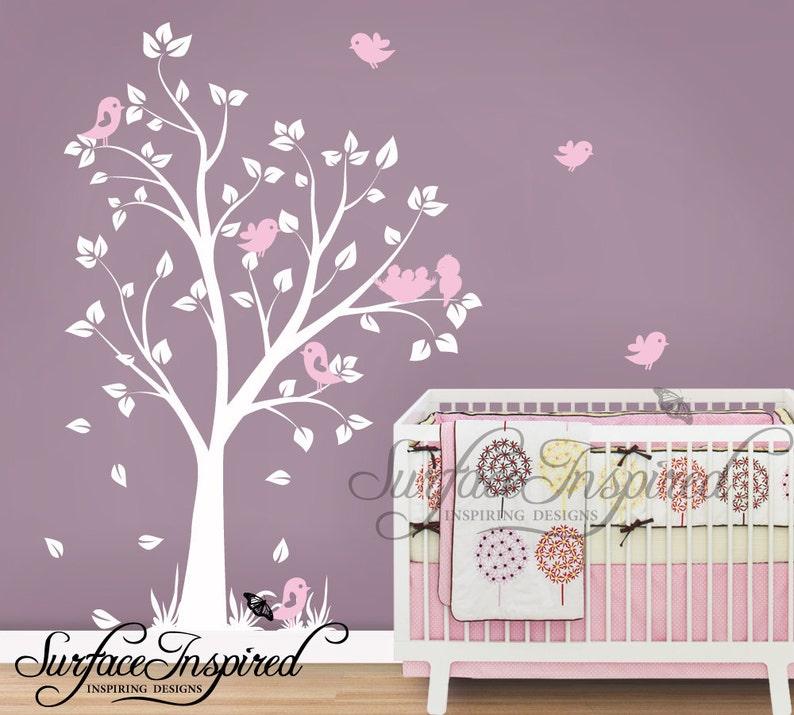 Kinderzimmer Wandtattoo Baby Garten Baum Wandtattoo für | Etsy