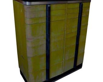 Bar/Storage Cabinet from Midcentury Dental Cabinet