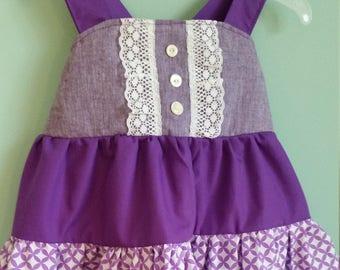 Summer Toddler Twirl Dress- size 2T