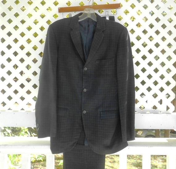 60's Mad Men Suit Don Draper Size 40