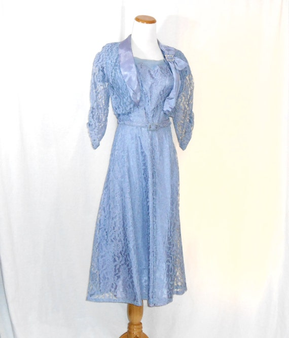 50's Dress and Jacket Set Dress Set