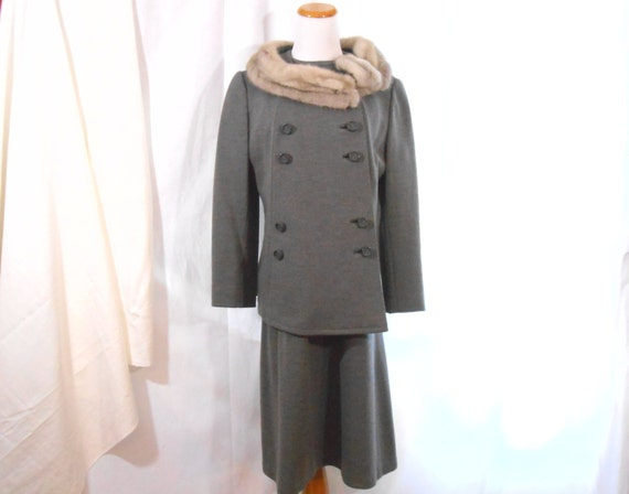 60's Dress and Coat Set Dress Set Size 14
