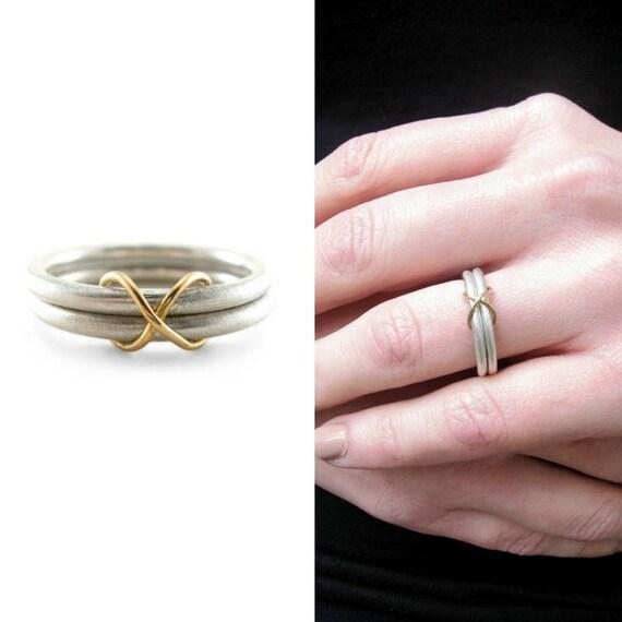 Infinity Wedding Ring Infinity Ring Infinity Symbol Etsy