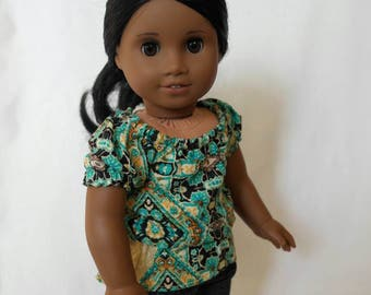 A Knit Blouse for 18-Inch Dolls